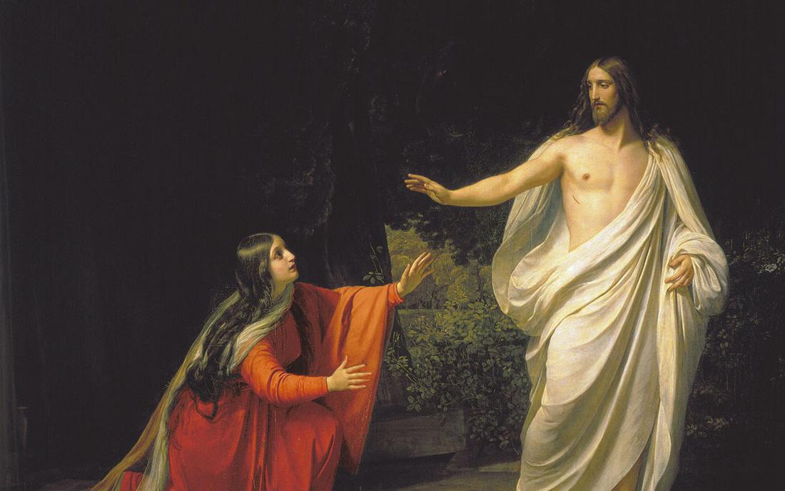 Zmartwychwstały Maria Magdalena