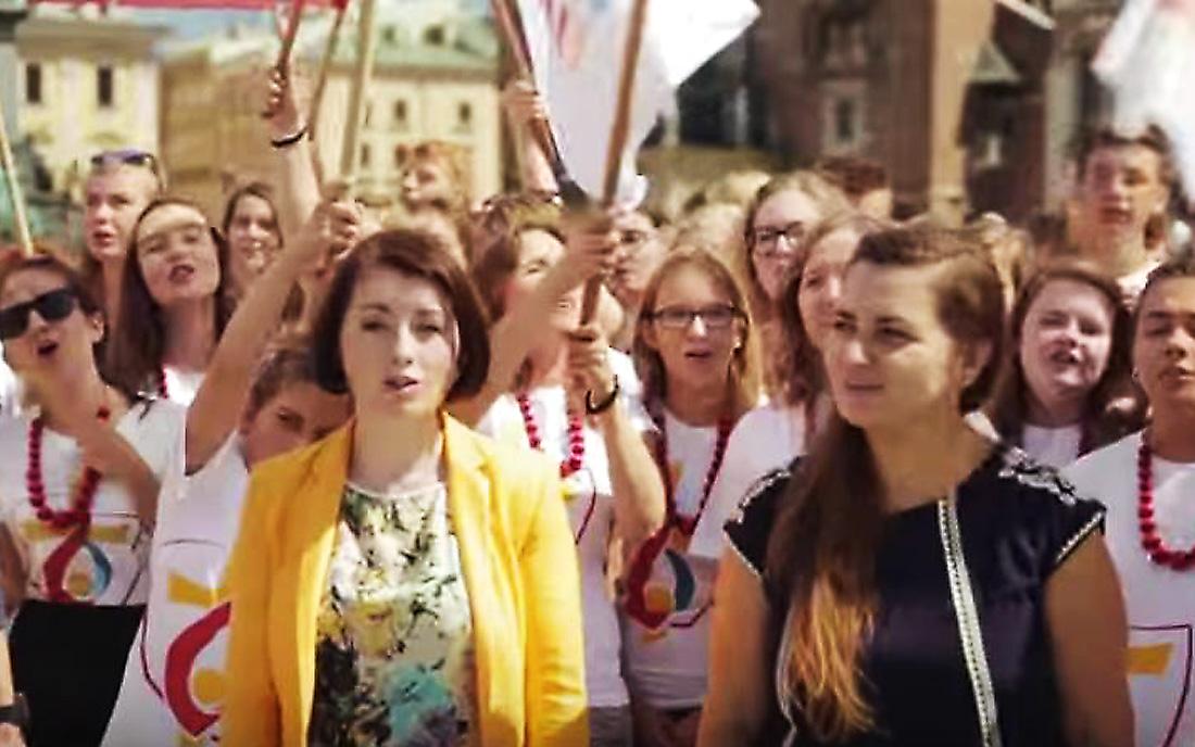 Fot. Youtube.com/ Światowe Dni Młodzieży Kraków 2016