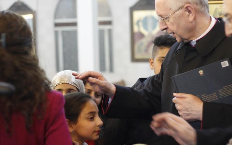 Abp Stanisław Gądecki w Syrii