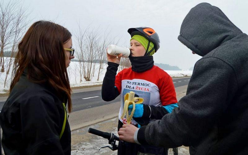 Natalia Lińczowska - drugi dzień akcji SuperMoc dla Życia