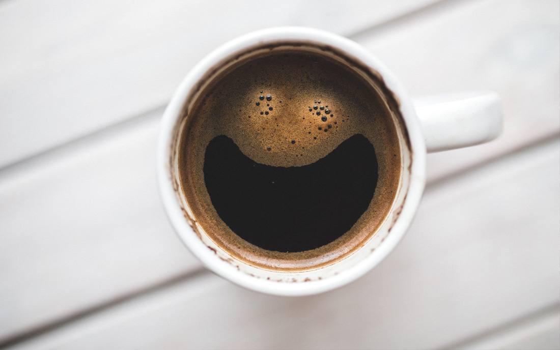 kawa uśmiech