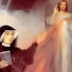 Święta Siostra Faustyna Kowalska i Jezus Miłosierny. Kraków-Łagiewniki