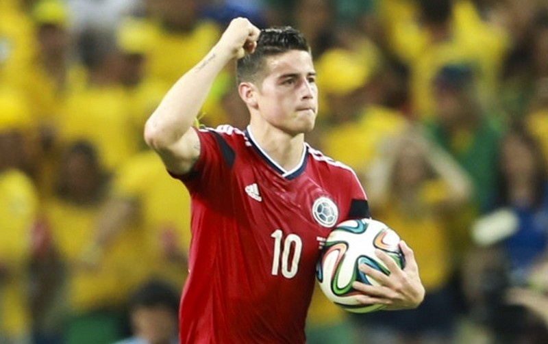 James Rodriguez, Real Madryt, reprezentacja Kolumbii