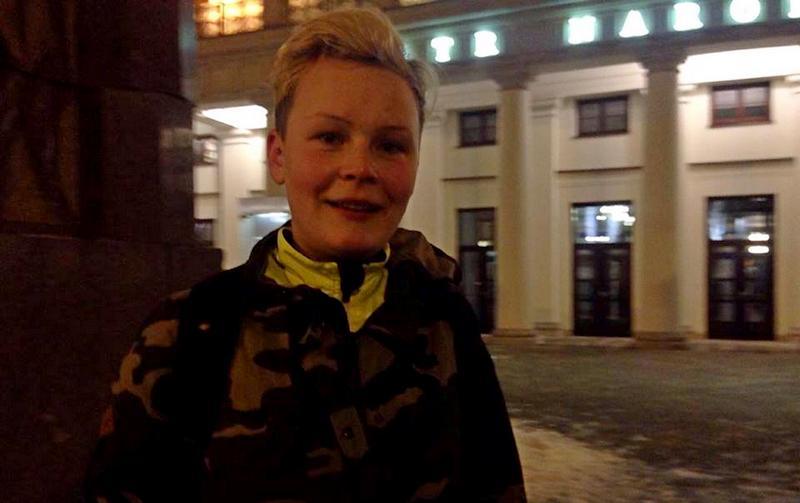 Natalia Lińczowska - 7 dzień akcji SuperMoc dla Życia. Warszawa