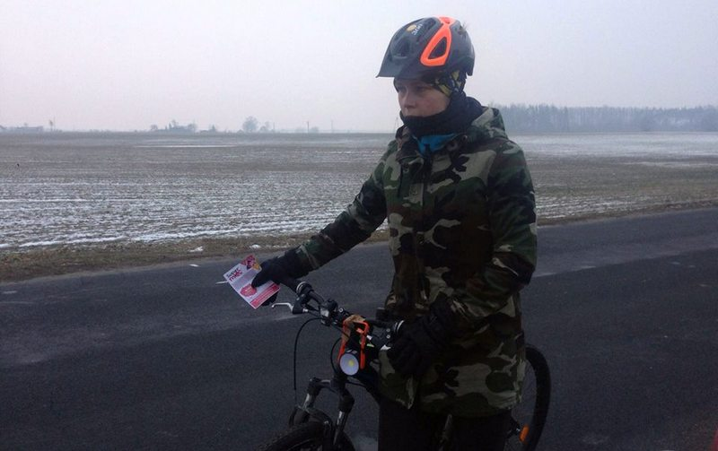 Natalia Lińczowska na trasie SuperMocy dla Życia - dzień 5