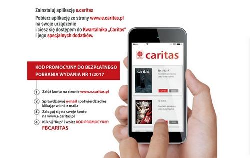 Nowy Kwartlanik Caritas także w aplikacji mobilnej