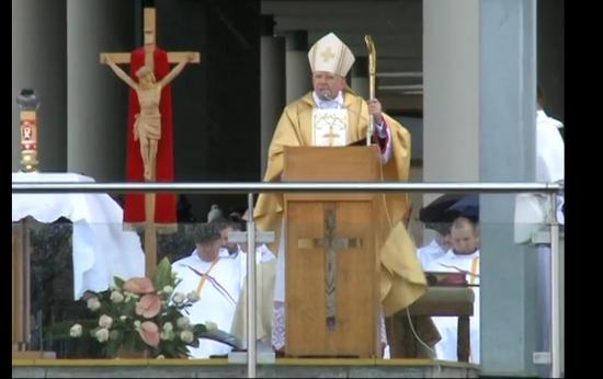 Święto Miłosierdzia Bożego – homilia abp. Marka Jędraszewskiego w Sanktuarium Bożego Miłosierdzia w Łagiewnikach