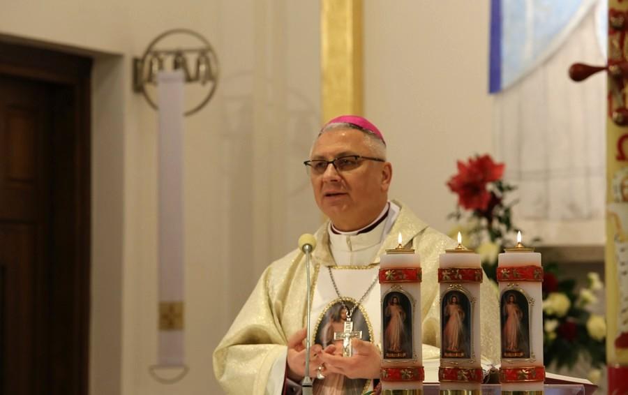 Bp Artur Miziński o św. Faustynie