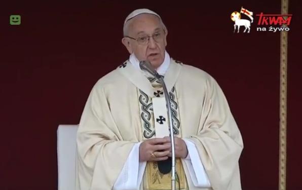 Franciszek - homilia Wielkanocna 2017