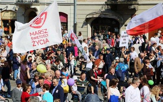 12. Marsza Świętości Życia w Warszawie. 2 kwietnia 2017 r.