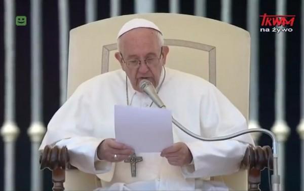 Audiencja Generalna Ojca Świętego Franciszka 17.05.2017