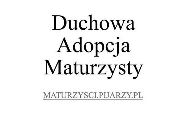 Duchowa Adopcja Maturzysty 2017