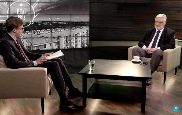 Marcin Przeciszewski o objawieniach fatimskich w Salve TV