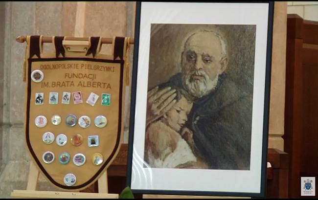 30-lecie Fundacji św. Brata Alberta w Sanktuarium św. Jana Pawła II w Krakowie