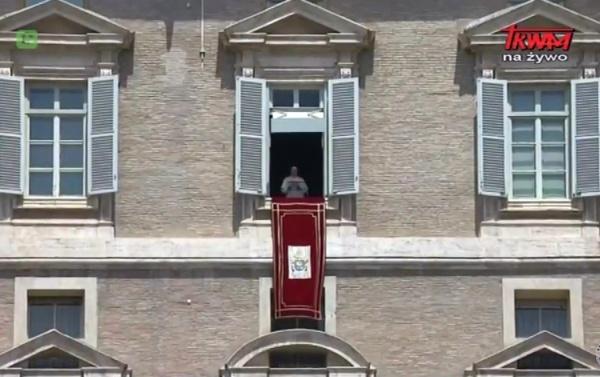 Regina Coeli z Ojcem Świętym Franciszkiem, 14 maja 2017