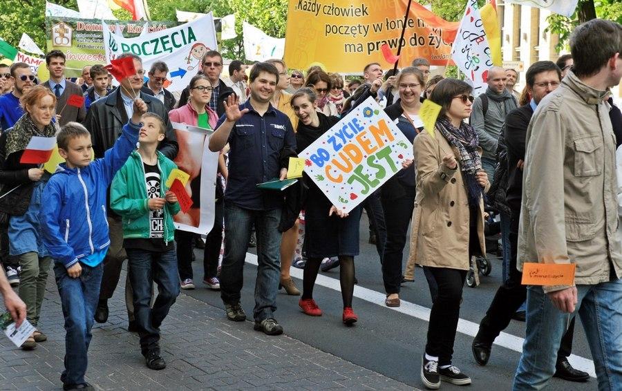 Marsz dla Życia w Poznaniu