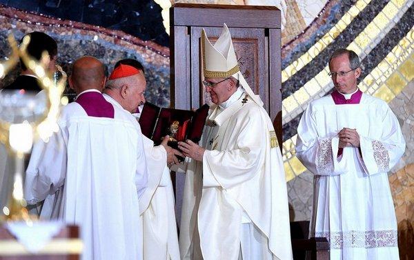 Papież w Polsce – Franciszek w Sanktuarium św. Jana Pawła II w Krakowie – 30 lipca 2016