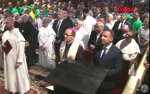 Andrzej Duda na Apelu Jasnogórskim - 23 lipca 2017