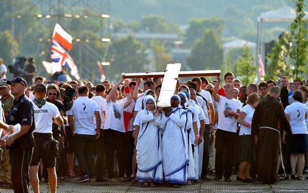 ŚDM Droga Krzyżowa na Błoniach, 29.07.2016