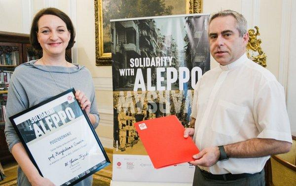 """""""Solidarni z Aleppo"""" - podsumowanie akcji"""