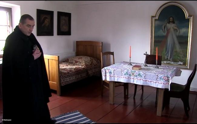 Dom rodzinny św. Faustyny Kowalskiej – oprowadza ks. Janusz Kowalski