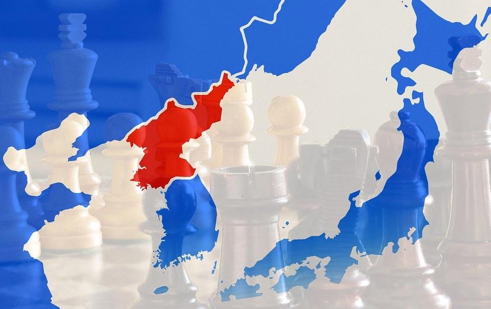 Korea - Japonia - Chiny - Rosja