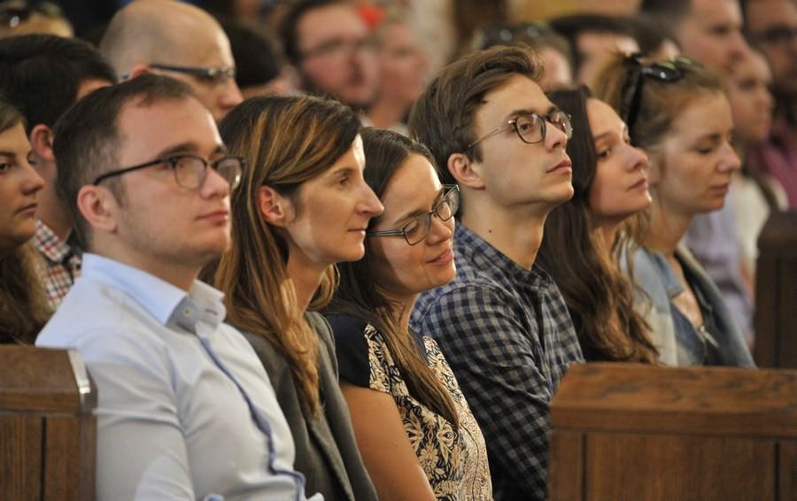 Rocznica ŚDM w Krakowie – Msza św. w Sanktuarium św. Jana Pawła II – 31 lipca 2017