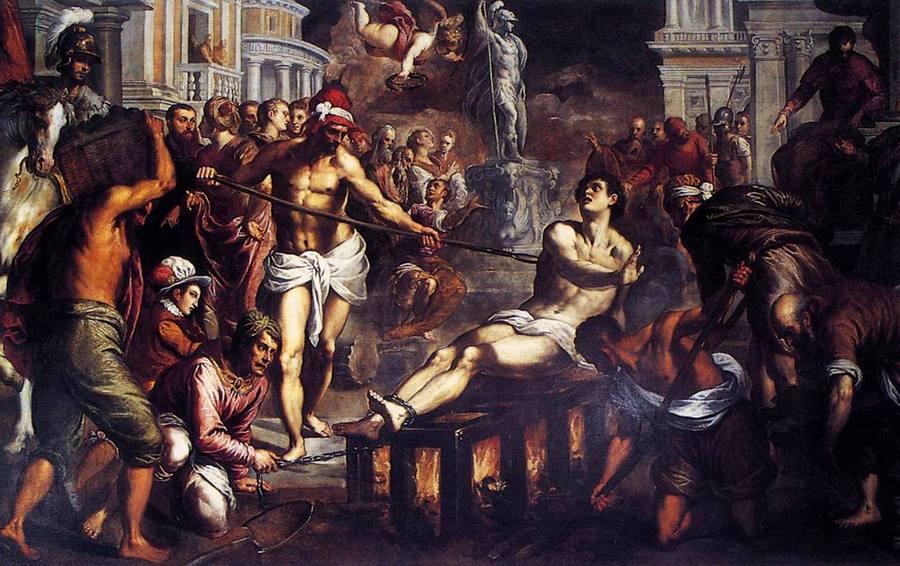 Męczeństwo św. Wawrzyńca