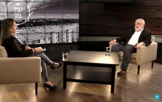"""Tomasz Wiścicki, współautor książki """"Ksiądz Jerzy Popiełuszko. Wiara, nadzieja, miłość. Biografia błogosławionego"""" w Salve TV - 12 września 2017"""