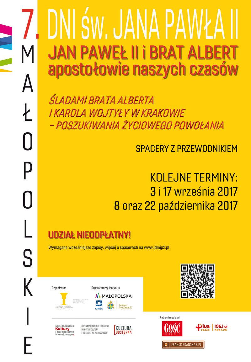 Spacery śladami Brata Alberta i Karola Wojtyły w Krakowie