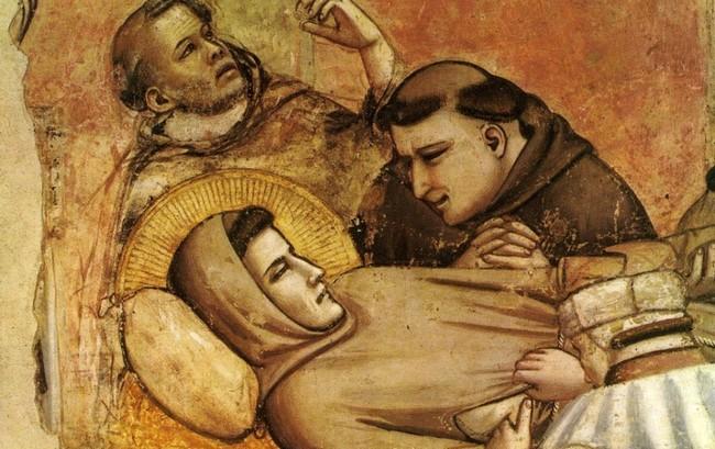 Śmierć św. Franciszka - Giotto