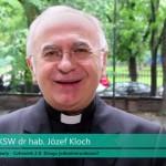 Ks. prof. UKSW dr hab. Józef Kloch o debacie NAUKA / Dziedziniec Dialogu 2017