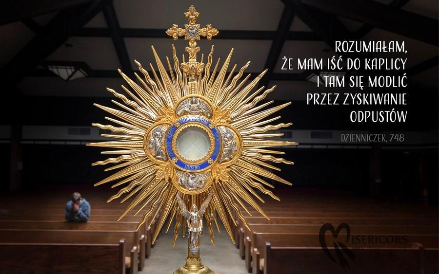 Odpust dla zmarłych - św. Faustyna Kowalska