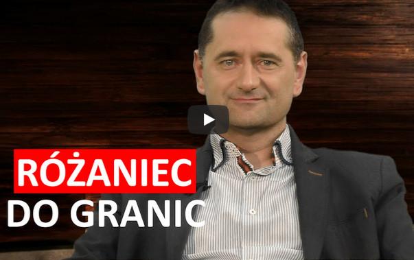 """""""Różaniec do granic"""" – 7 października 2017 – Łukasz Witkiewicz w Salve TV"""
