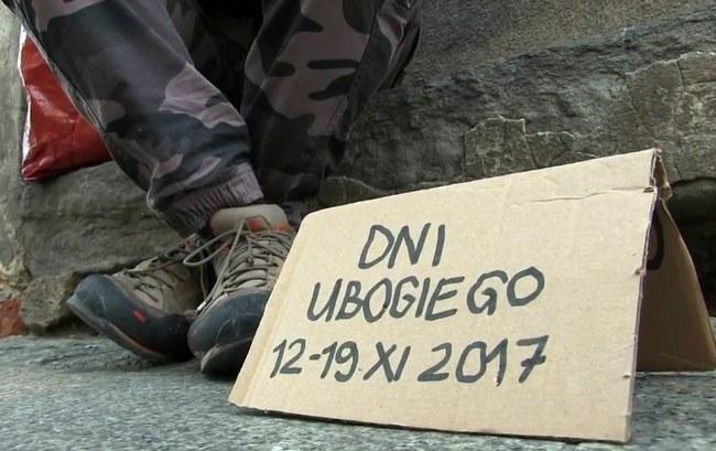 harmonogram wydarzeń 1. Światowego Dnia Ubogich w Archidiecezji Krakowskiej.