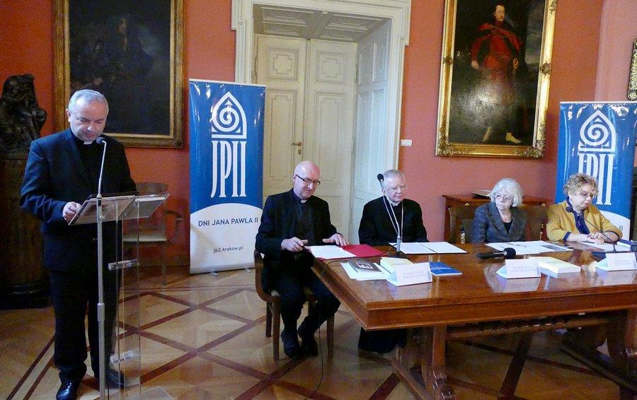 Rozpoczęły się XII Dni Jana Pawła II w Krakowie - Konferencja prasowa z udziałem abp. Marka Jędraszewskiego - 7 listopada 2017
