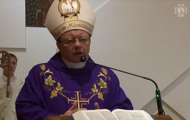 1. Niedziela Adwentu - Homilia abp. Grzegorza Rysia do kleryków - 3 grudnia 2017
