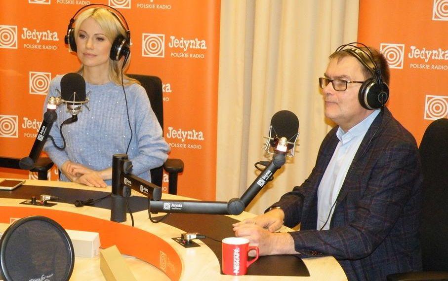 Magdalena Ogórek i ks. Marek Chrzanowski FDP w Polskim Radiu