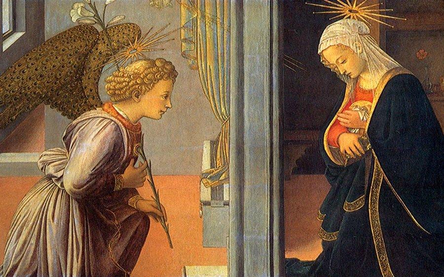 Historia miłosierdzia – Zwiastowanie – MISERICORS – Codzienna aplikacja  Miłosierdzia