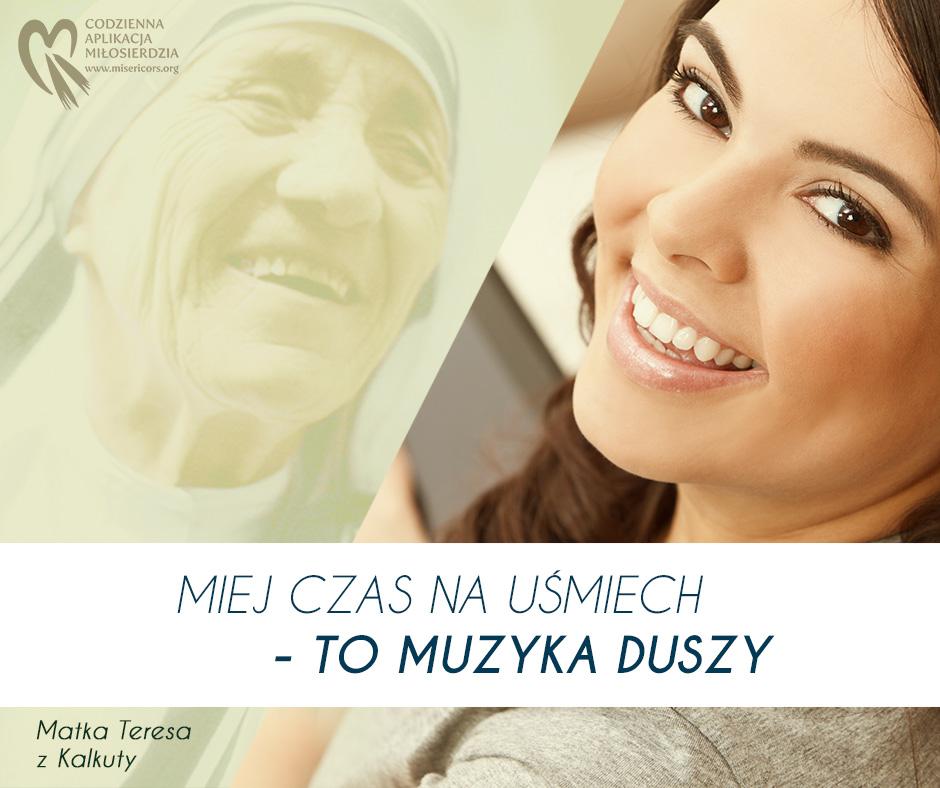 Miej czas na uśmiech - Słowa św. Matki Teresy