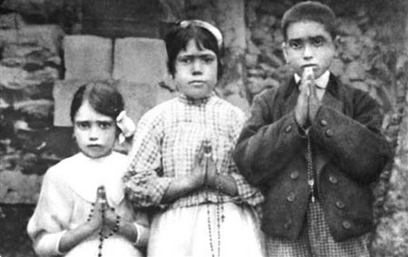 Hiacynta, Łucja i Franciszek - dzieci z Fatimy