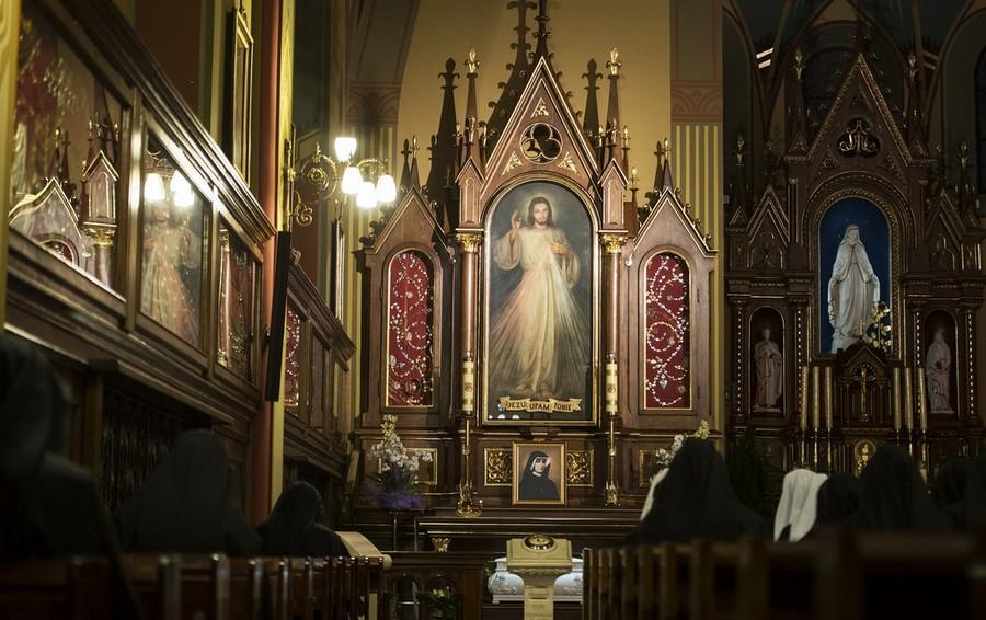 Kaplica w Sanktuarium Bożego Miłosierdzia