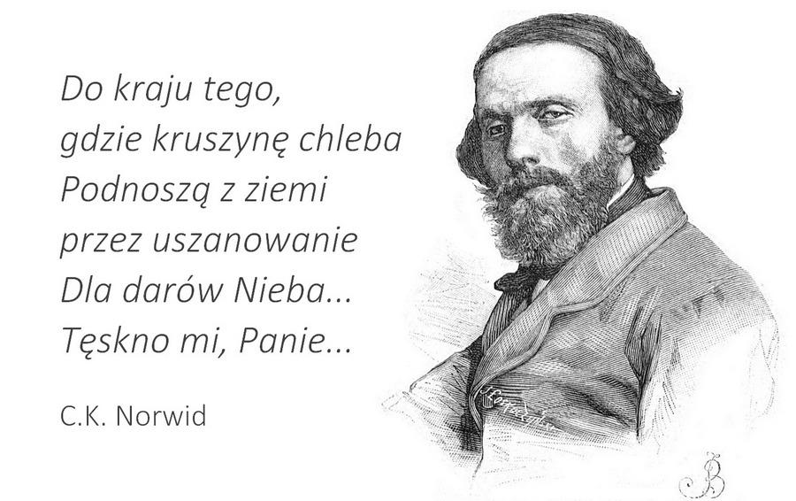 C.K. Norwid, Tęskno mi Panie
