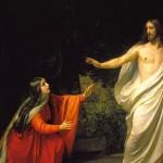 Zmartwychwstały i Maria Magdalena