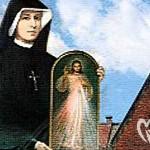 Faustyna i obraz Jezusa Miłosiernego