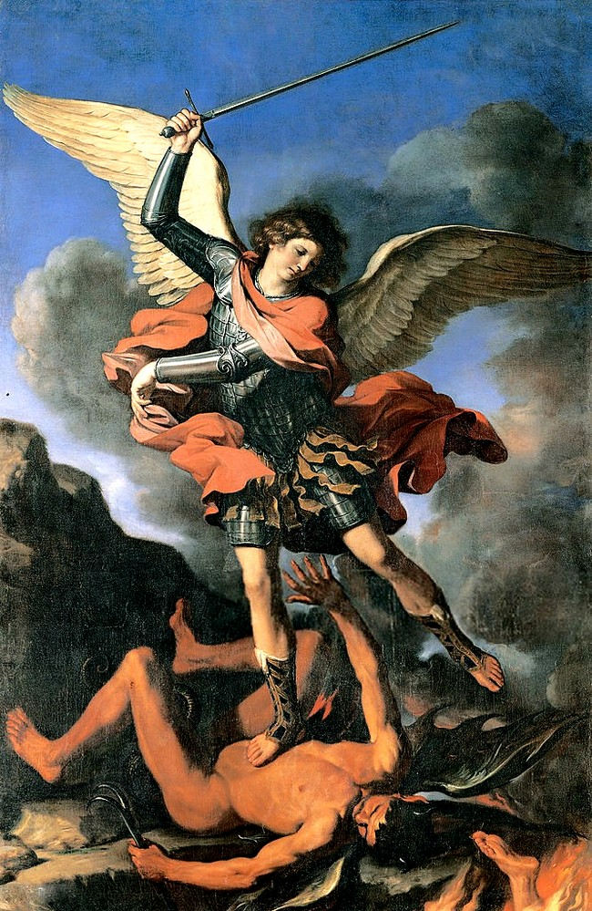 Św. Michał Archanioł - Giovanni Francesco Barbieri (Guercino)