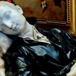 Rzeźba św. Stanisława Kostki w kościele św. Andrzeja w Rzymie