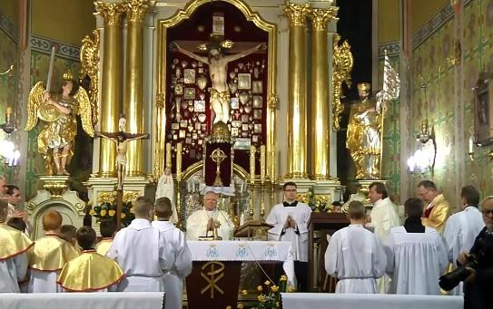 Msza św. na zakończenie Roku św. Brata Alberta w Igołomi - Homilia abp. Marka Jędraszewskiego - 28 listopada 2017