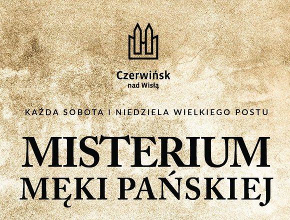 Misterium Męki Pańskiej w Czerwińsku nad Wisłą