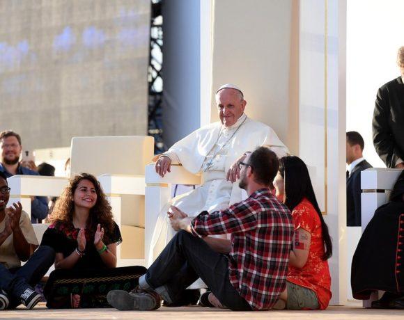 Papież Franciszek z młodymi - ŚDM Kraków 2016